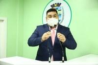 Alex Garcia solicita mutirão do Cartão do Produtor Primário pelo Idam na Zona Rural de Parintins