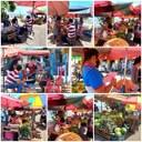 Babá Tupinambá abraça luta de feirantes que comercializam em frente ao Bar Chapão