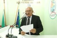 Cabo Linhares apresenta construção de um Centro do Idoso no bairro São Benedito e solicita programação de recapeamento em Parintins