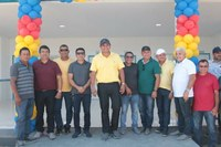 Cabo Linhares participa da inauguração de mais uma nova escola na zona Rural