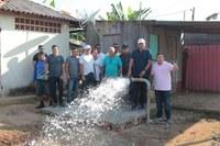 Cabo Linhares prestigia a entrega do novo poço artesiano na cidade e na zona Rural da nova escola e do novo sistema água