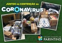 Câmara de Parintins faz contribuição de materiais aos hospitais do município