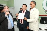 Com propositura do vereador Maildson Fonseca, Alexandre Flecha recebe título de cidadão parintinense