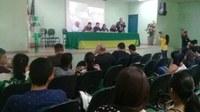 Como Presidente do Legislativo Municipal em exercício, vereador Afonso participa da aula inaugural do curso de Engenharia Civil