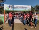 Comunidade do Aninga recebe parque infantil com festa
