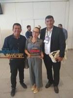 Em Manaus, Nêga Alencar participa do 1º Seminário sobre Saneamento Ambiental no Amazonas, no Centro de Convenções Vasco Vasques