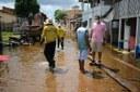 Enchente: Mateus Assayag verifica in loco situação das Ruas Padre Victor, Urucará e Baixa do São José