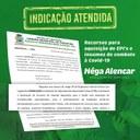 Indicação de Nêga Alencar é atendida e Saúde de Parintins recebe R$ 1,5 milhão para combate à Covid-19