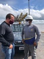Massilon acompanha manutenção e instalação de novas luminárias na região da Vila Amazônia