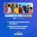 Massilon requer melhorias na área da saúde e educação para o Mocambo