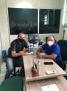 Massilon visita diretor do Saae para acompanhar demandas ligadas à autarquia