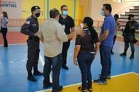 Mateus Assayag acompanha equipes do Estado e Prefeitura em logística para ações em Parintins