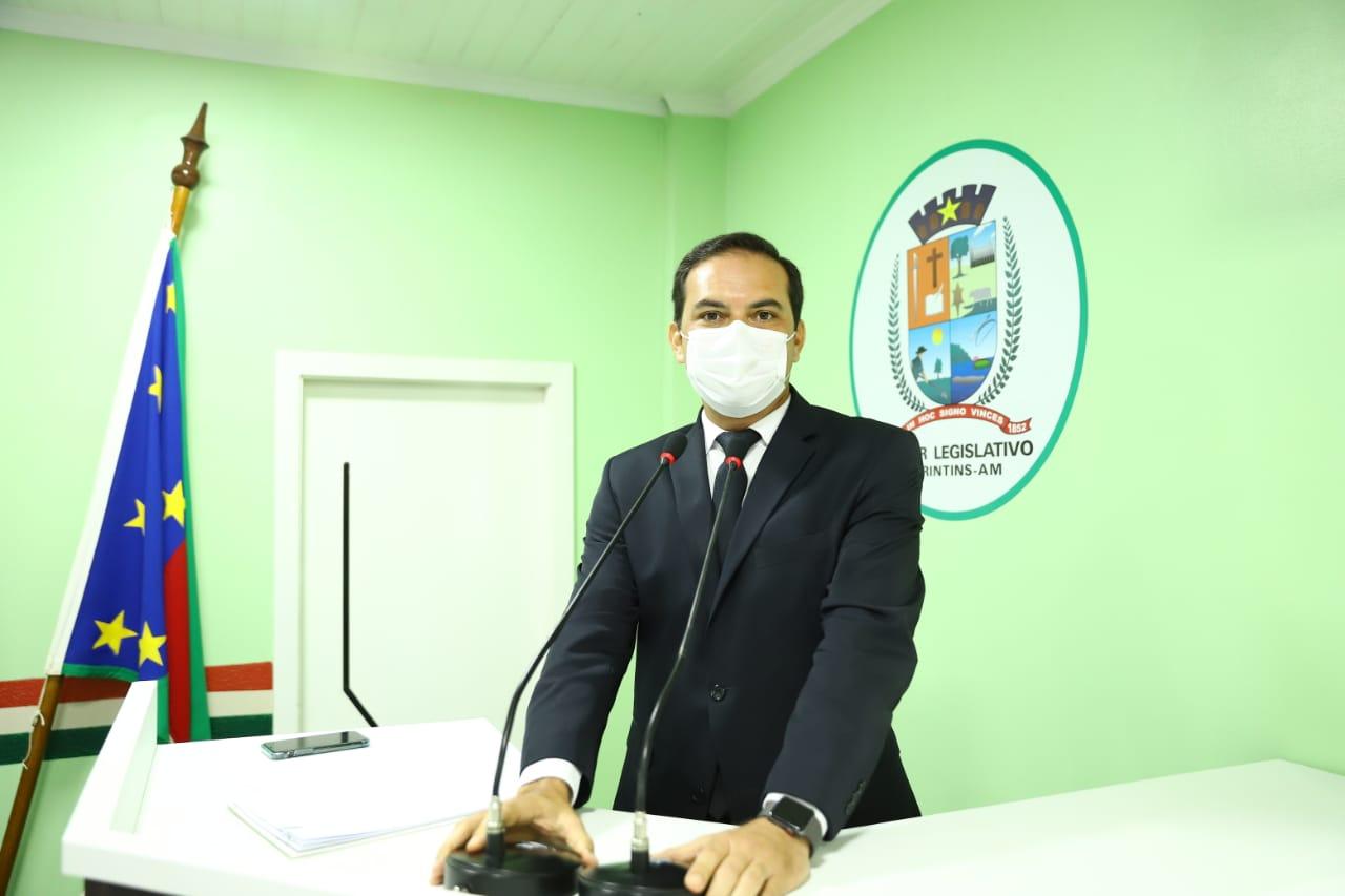 Mateus Assayag propõe criação do primeiro Parque Ambiental Municipal de Parintins