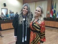 Nêga Alencar representa Câmara de Parintins na posse da desembargadora eleitoral Giselle Pascarelli