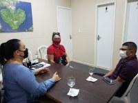 Presidente em Exercício Vanessa Gonçalves reúne com Vereador de São Sebastião do Uatumã