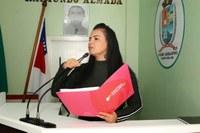 Vanessa Gonçalves pede mais investimentos para projetos sociais da Associação do Itaúna 2