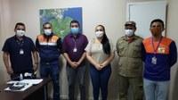 Vanessa Gonçalves reúne com equipes do Estado para articular entrega do Cartão Enchente em Parintins