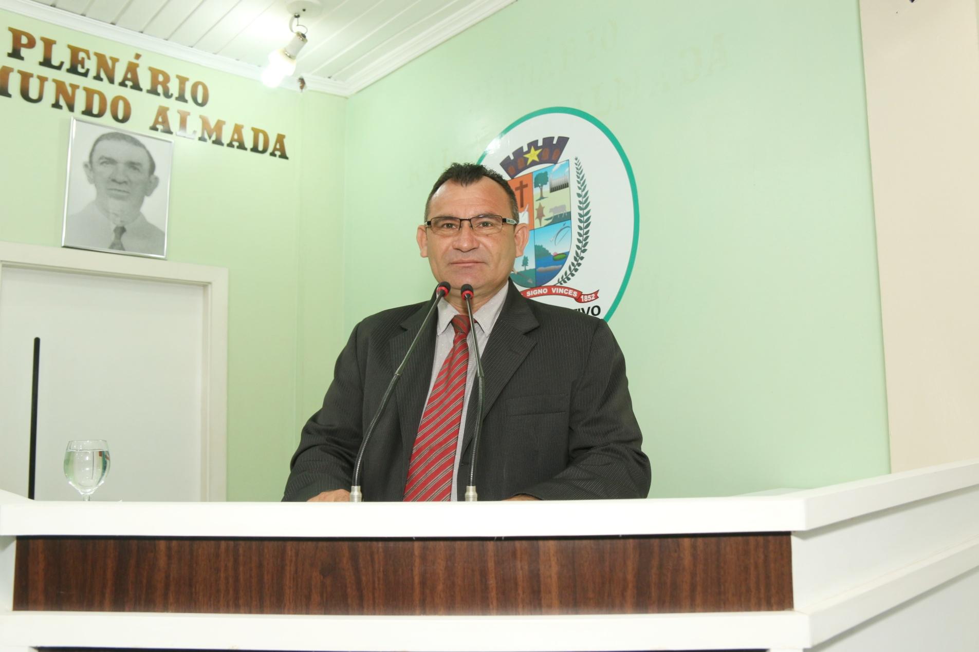 Vereador Afonso protesta contra Obra que Ameaça as Águas da Agrovila do Caburi