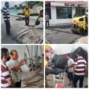 Vereador Babá Tupinambá destaca trabalhos da equipe da SEMOSP na recuperação das ruas de Parintins