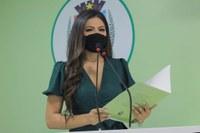 Vereadora Brena Dianná cobra o Reajuste Salarial, a concessão de Promoção, Progressão Salarial e outros direitos dos Servidores efetivos do Município