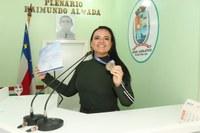 Vereadora Vanessa se manifesta contra Reforma da Previdência
