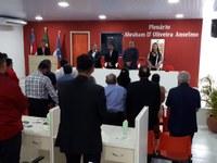 Vereadores de Parintins participam da inauguração do novo plenário da Câmara de Barreirinha